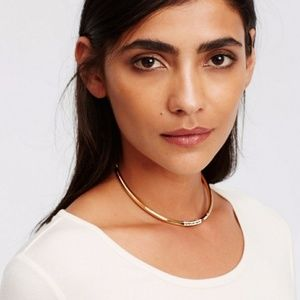 Ann Taylor Crystal Pave Choker Necklace